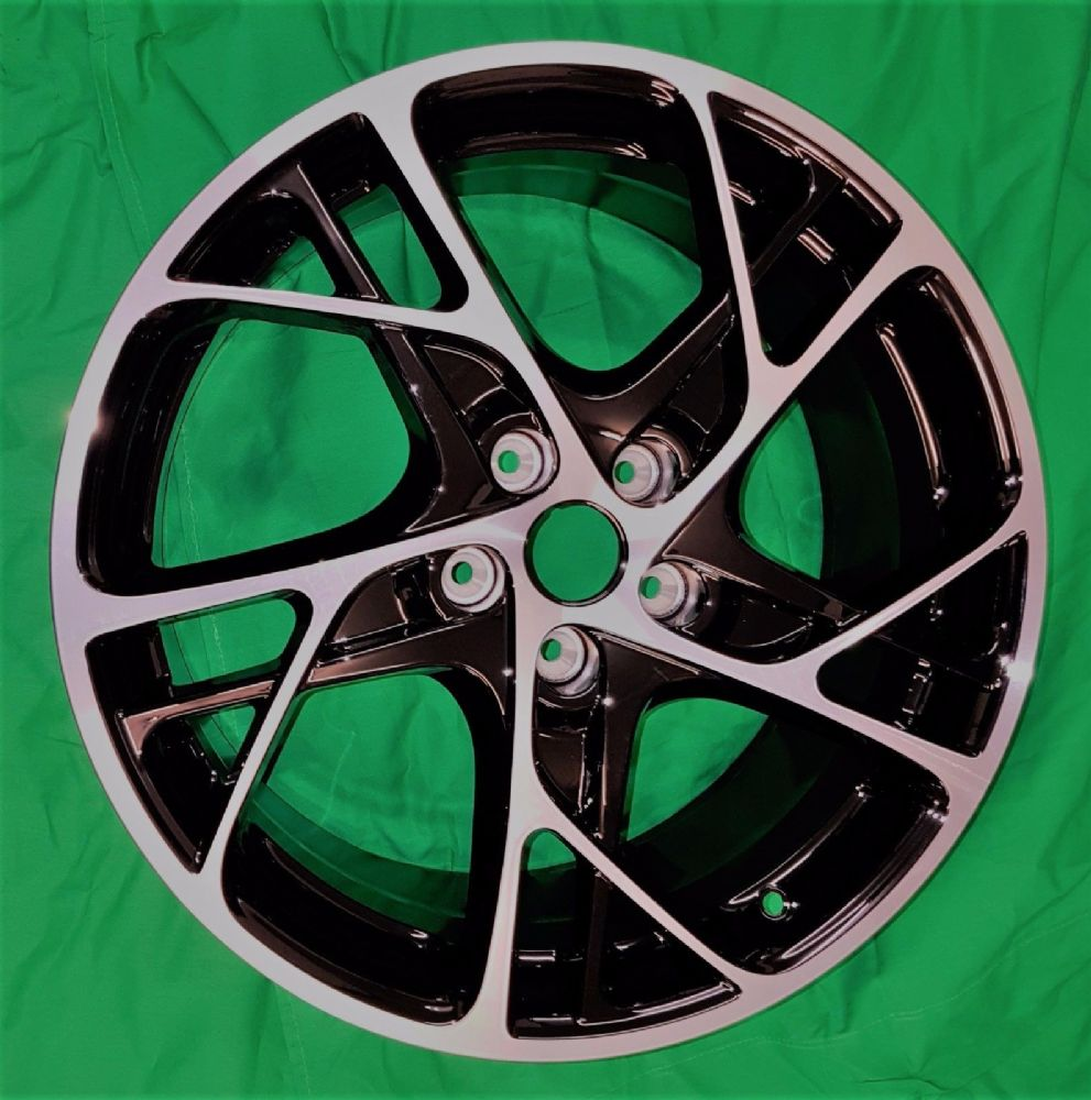 "New Genuine Renault Megane RS250 19"" Inch Steev Diamond Alloy Wheel Black"